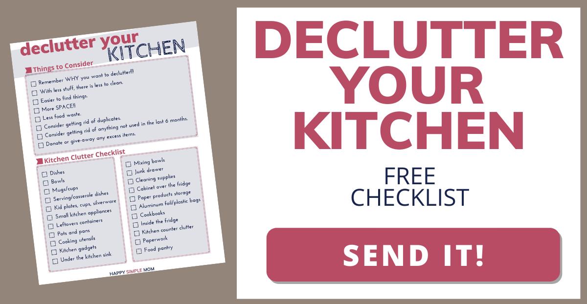 Click for a free kitchen checklist!