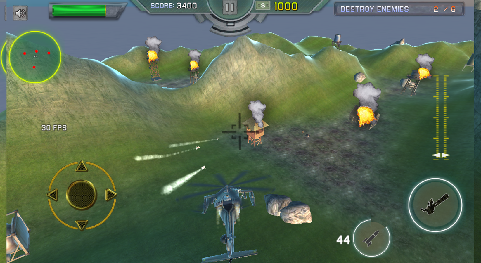 Heavy Gunship Helicopter War🚁- screenshot
