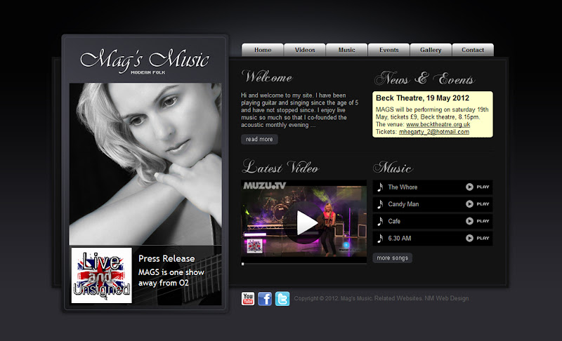 Photo: Mags Music www.magsmusic.com