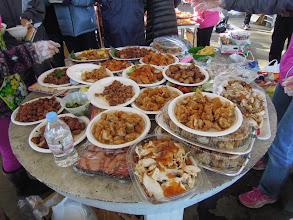 Photo: 沢山のお肉が並ぶ、沢山あるから食べてね