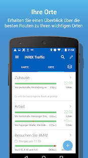 INRIX Traffic Karten & GPS Screenshot