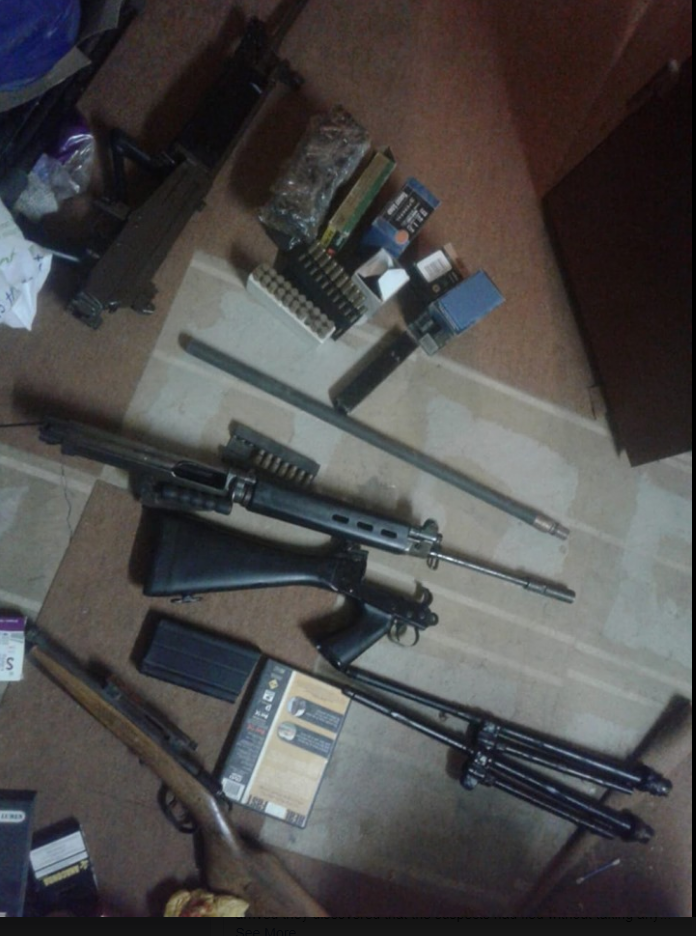 Verdagte Limpopo-triomisdade 'kingpin' gearresteer en daar is beslag gelê op vuurwapens - SowetanLIVE Sunday World