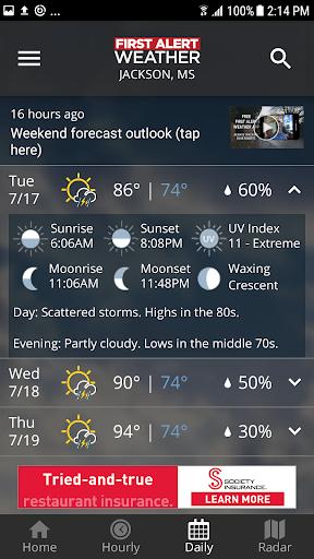 First Alert Weather screenshot 5