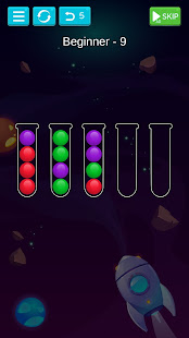 Ball Sort - Bubble Sort Puzzle Game