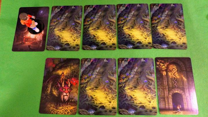 ミステリアス フォレスト/神秘の森:ゲームの準備