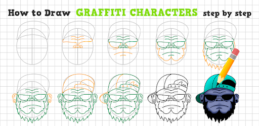 How To Draw Graffiti Characters Apps On Google Play