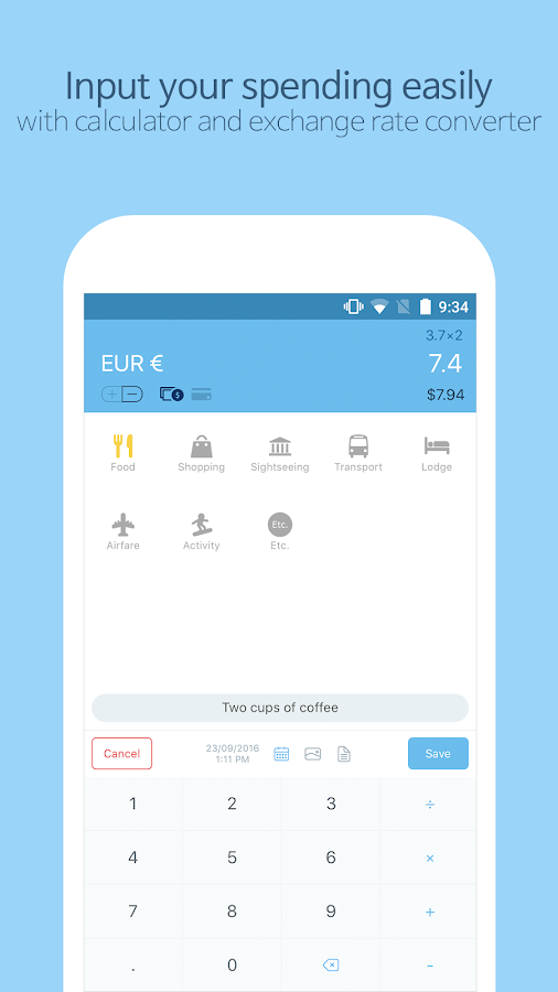 Trabee Pocket : Travel Expense- screenshot