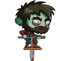 Zombie and a Pogo icon