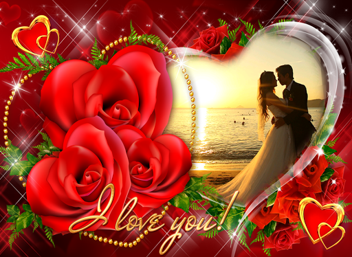Love Collage Frames