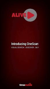 Alive OneScan Visual Search AR- screenshot thumbnail