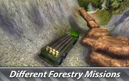 Logging Harvester Truck 1.4 screenshots 4