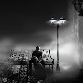 by Vladimir Jablanov - Black & White Portraits & People