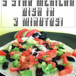 5 Star Mexican Dish in 3 Minutes! Garantizado (Guaranteed) Recipe