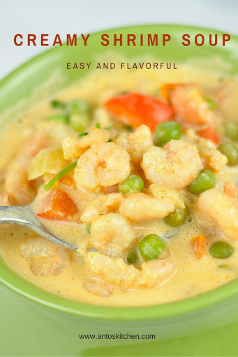 shrimp soup recipe