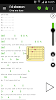 Screenshot of Guitar chords and tabs PRO