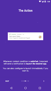 Conscient - Context Aware app- screenshot thumbnail