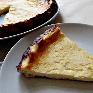 Low Carb Lemon Ricotta Cake.