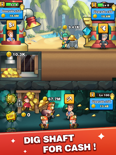 Digger To Richesuff1a Idle mining game screenshots 7