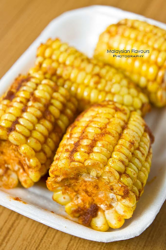 Corn on Cab @ Shell Out Seafood Restaurant - Malaysia Food