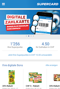 Coop Supercard – Miniaturansicht des Screenshots