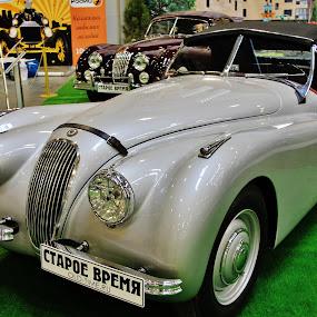Old Timer's Gallery, Moscow, Russia by João Branquinho - Transportation Automobiles