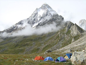 Photo: Shivling from base-camp