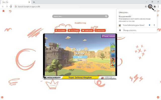 Tower Defense Kingdom Game New Tab