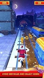Santa Xmas Runner - náhled