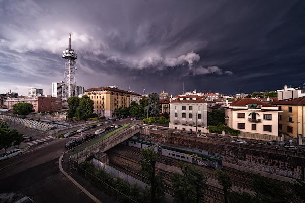Temporale su Milano di wallyci