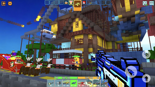 Cops N Robbers - 3D Pixel Craft Gun Shooting Games 9.0.9 screenshots 2