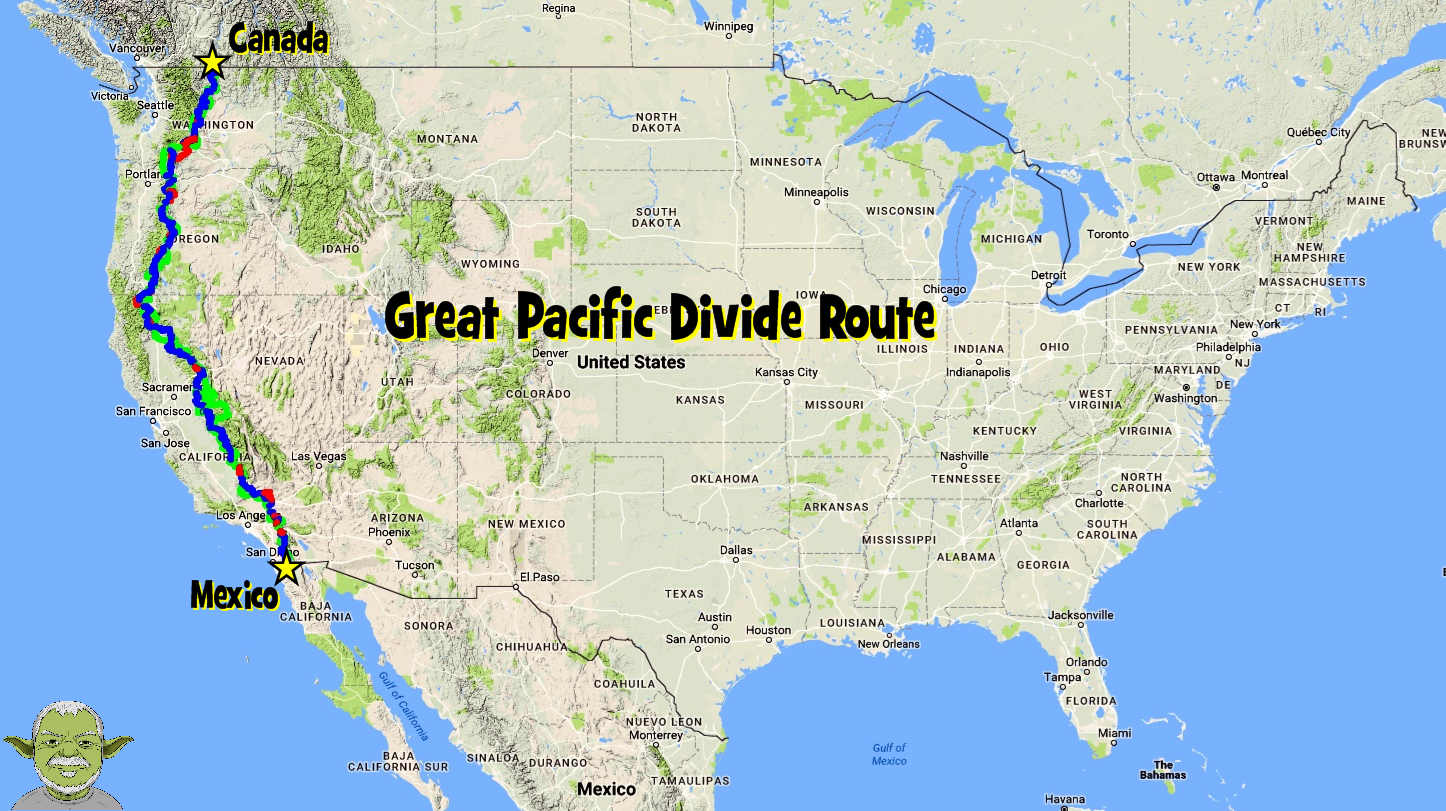 Trans America Trail >> Pacific Divide Route - gpsKevin Adventure Rides