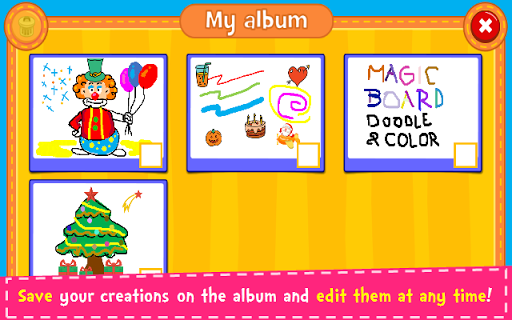 Magic Board - Doodle & Color 1.35 screenshots 5