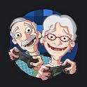Senioren Zocken Emoji App + GIFs, Stickers icon