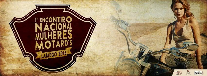 1º encontro de mulheres motards na Festa da Senhora dos Remédios
