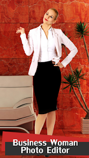Business Woman Photo Editor - náhled