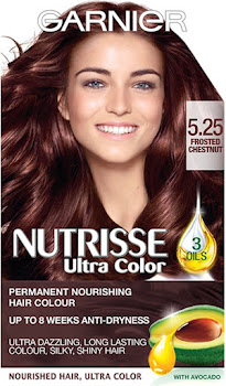 Garnier Nutrisse Permanent Hair Dye - 5.25 Chestnut Brown