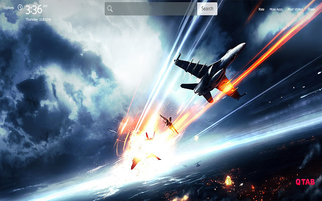 Battlefield Wallpapers New Tab Theme