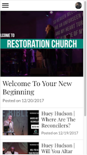 Restoration Church- screenshot thumbnail