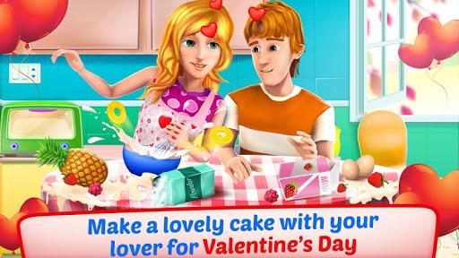 バレンタインラブケーキメーカー3D