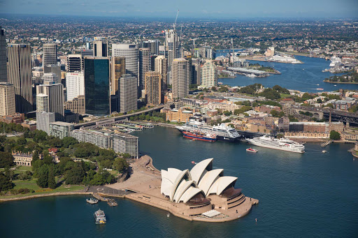 Enjoy the warm summer months in Sydney on Ponant's L'Austral.
