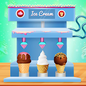 Sweets and Desserts Factory - Ice-cream Shop