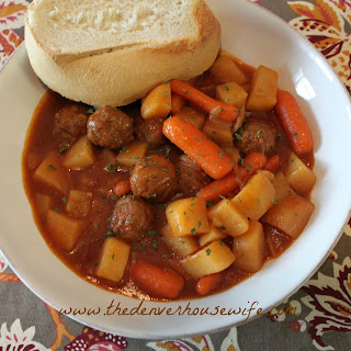 Meatball Stew With Gravy Recipes