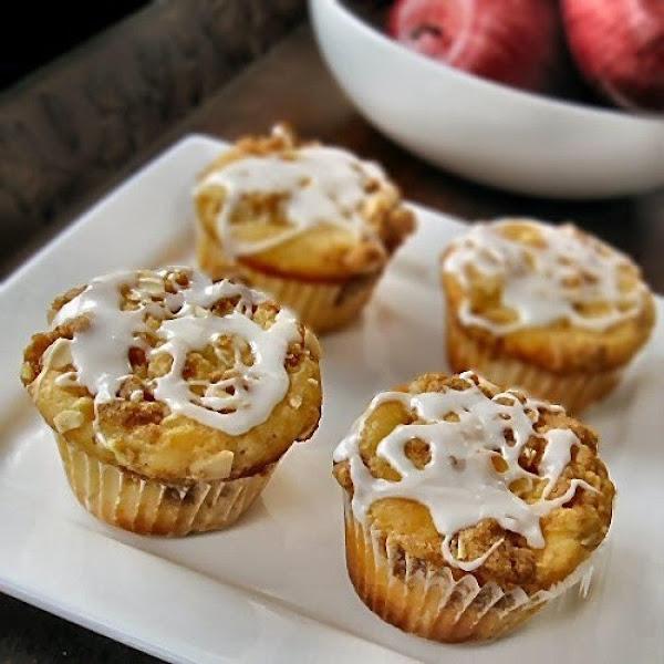 Amaretto Apple Muffins Recipe