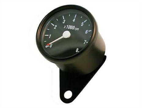Varvräknare 60mm elektronisk 8000 rpm