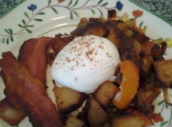Home Fries Bake Potato Style Recipe