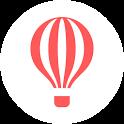 HOTSGO PLAN : Travel Planner & Travel Expenses icon