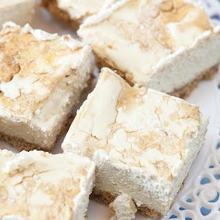 Less Added Sugar Salted Brown Sugar Cheesecake Bars Recipe