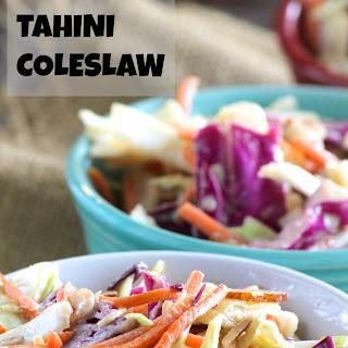 Vegan Tahini Slaw Recipe