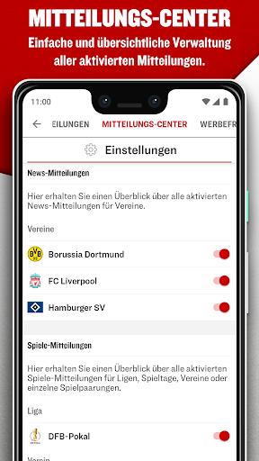 kicker Fußball News 6.6.0 screenshots 6