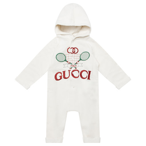 Primary image of Gucci Hooded Tennis Babygrow